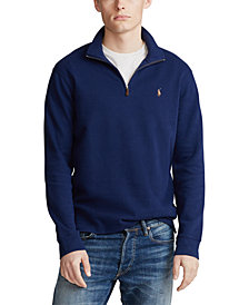 Polo Ralph Lauren Men's Estate-Rib Quarter-Zip Pullover, Created for Macy's
