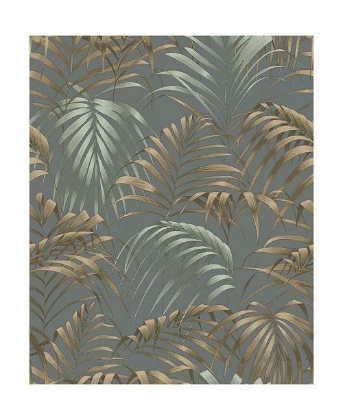 """Sirpi 20.5"""" x 396"""" Raja Palm Wallpaper"""