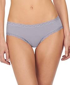 Bliss Lace-Trim Cotton Brief 156058