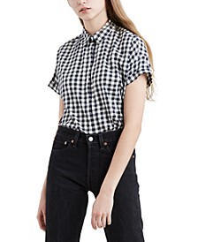 Women's Sadie Cotton Button-Back Shirt