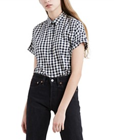 Levi's® Sadie Cotton Button-Back Shirt