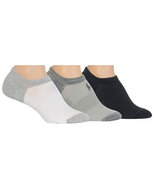 Polo Ralph Lauren Women's 3-pk No Show Socks