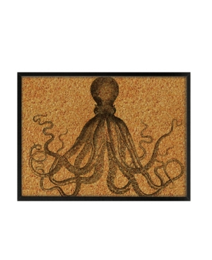 Grab organization by the tentacle with this stylish board. Its thick black frame and antique octopus print will add a coastal chic touch to photos and lists.
