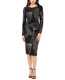 Geometric-Pattern Dress