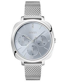 Women's Seduction Stainless Steel Mesh Bracelet Watch 34mm