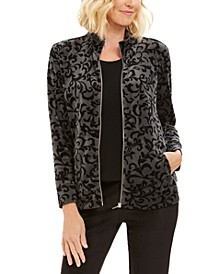 Sport Printed Jacket, Created For Macy's