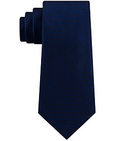 Men's Slim Oversized Herringbone Tie