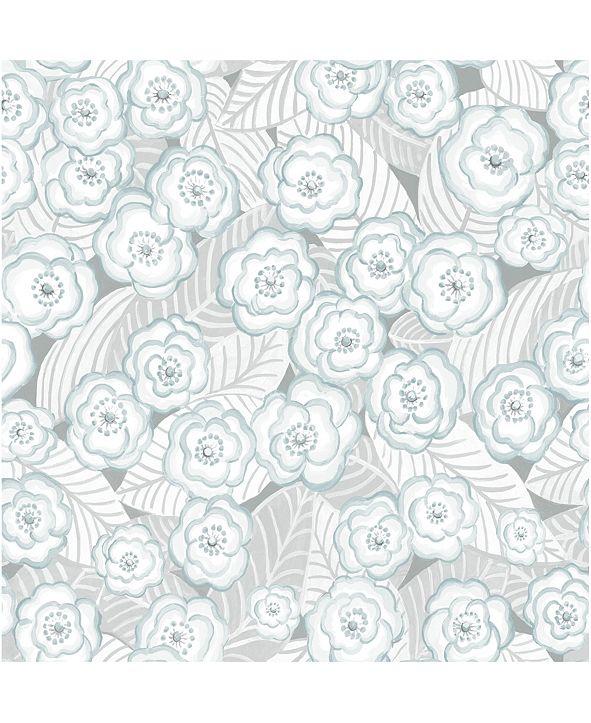 """NuWallpaper 20.5"""" x 2592"""" Oopsie Daisy Peel Stick Wallpaper"""