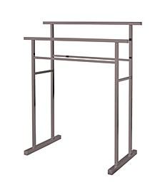 Pedestal Steel Construction Towel Rack