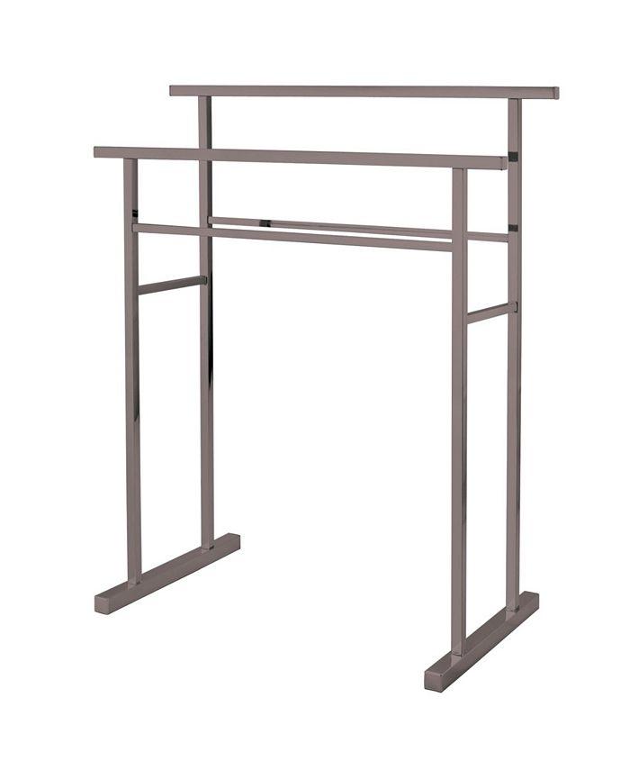 Kingston Brass - Pedestal Steel Construction Towel Rack