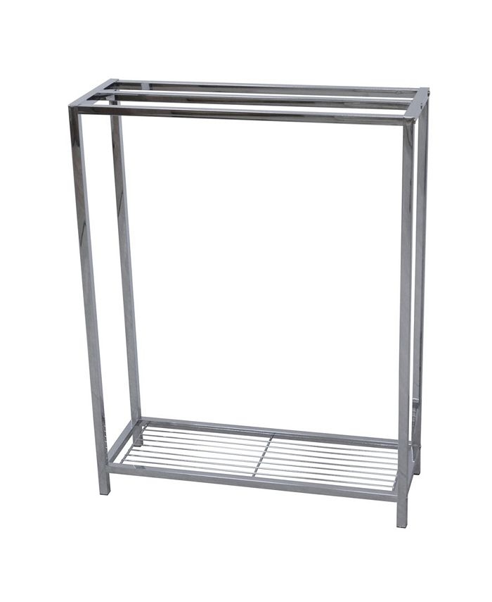 Kingston Brass - Freestanding Iron Towel Rack in Polished Chrome