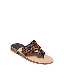 Jack Rogers Jacks Haircalf Flat Sandals