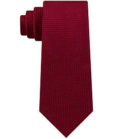 Men's Hi Low Slim Geometric Tie