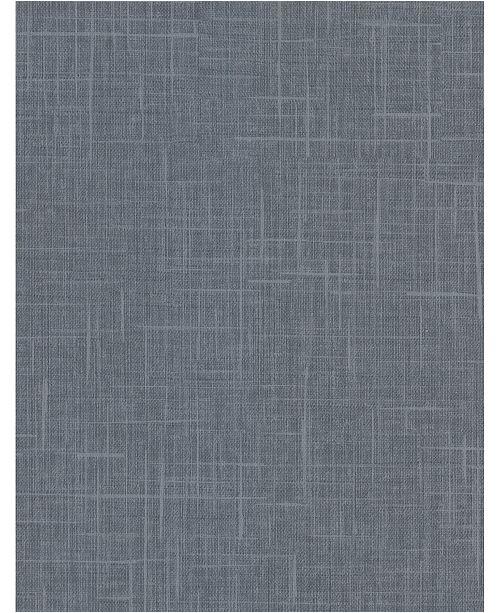 """Warner Textures 27"""" x 324"""" Stannis Linen Texture Wallpaper"""