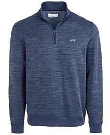 Men's Rapiwarm Quarter Zip Herringbone Sweater, Created for Macy's