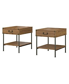 Ironworks Set of 2 End Tables