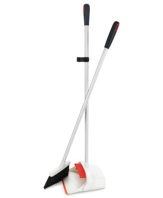 OXO Dustpan And Broom Set, Upright Sweep