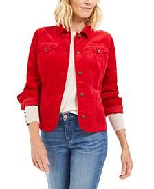 Velveteen Jacket, Created For Macy's