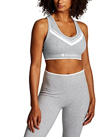 Women's Chevron Mid-Impact Sports Bra