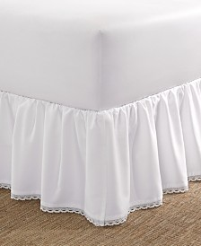 Laura Ashley Crochet Ruffle Twin Bedskirt