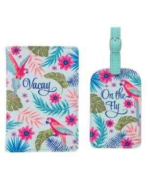 Karma Gifts Passport Holder Luggage Tag Set