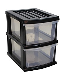 A3 S Series 2 Clear Drawer Storage Organizer KD