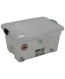 6.75 Gallon Rolling Bin Storage Organizer