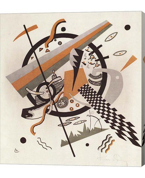 """Metaverse Komposition Mit Schachbrettstreifen, 1922 by Wassily Kandinsky Canvas Art, 22"""" x 24"""""""