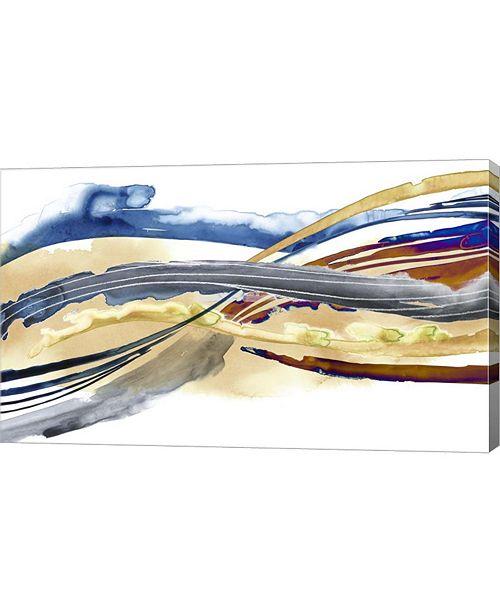 "Metaverse Soundwaves II by Grace Popp Canvas Art, 33.5"" x 20"""