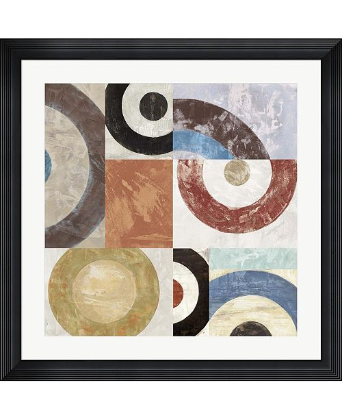 "Metaverse Waves II by Sandro Nava Framed Art, 32"" x 32"""