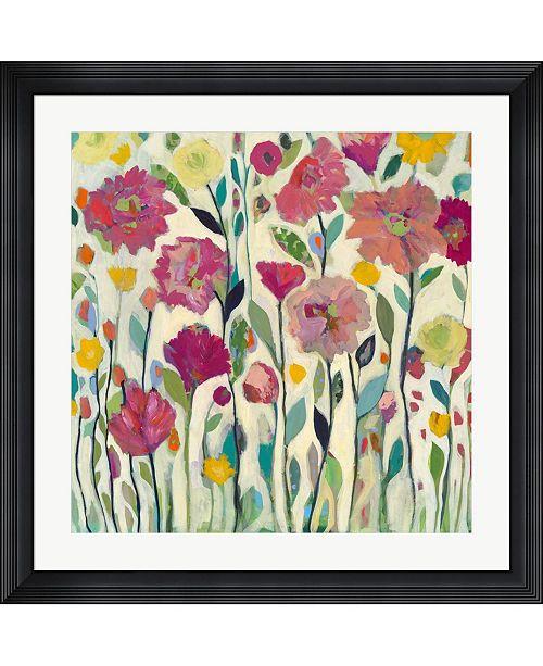 """Metaverse She Lived in Full Bloom by Carrie Schmitt Framed Art, 32"""" x 32"""""""