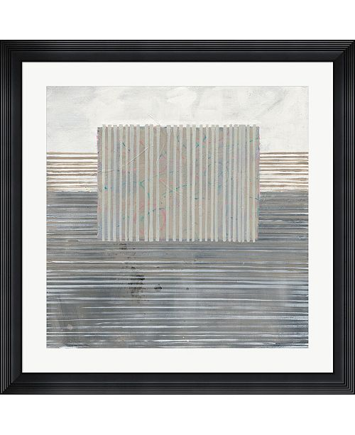 """Metaverse Layers of Reality by Mike Schick Framed Art, 32"""" x 32"""""""
