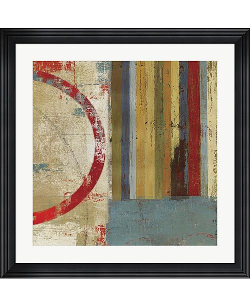 """Metaverse to The Left by Posters International Studio Framed Art, 32"""" x 32"""""""