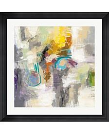 """Chalk on Asphalt by Silvia Vassileva Framed Art, 32"""" x 32"""""""