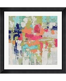 """Summer Silk Road Bright by Silvia Vassileva Framed Art, 32"""" x 32"""""""