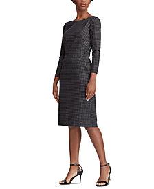 Lauren Ralph Lauren Structured Sheath Dress