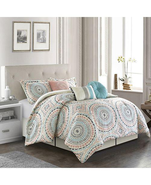 Nanshing Nason 7-Pc. Queen Comforter Set