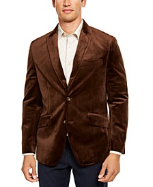 Men's Velvet Sport Coat, Created For Macy's
