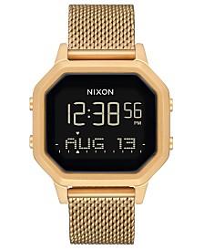 Nixon Women's Siren Gold-Tone Stainless Steel Milanese Bracelet Watch 36mm