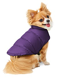 Reversible Down Puffer Coat for Dogs