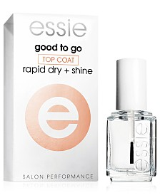 essie nail care, good to go