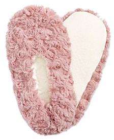 Faux-Fur Slipper Socks, Created for Macy's