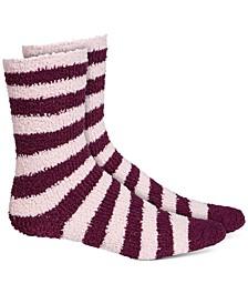 Women's Super Soft Striped Crew Socks, Created For Macy's