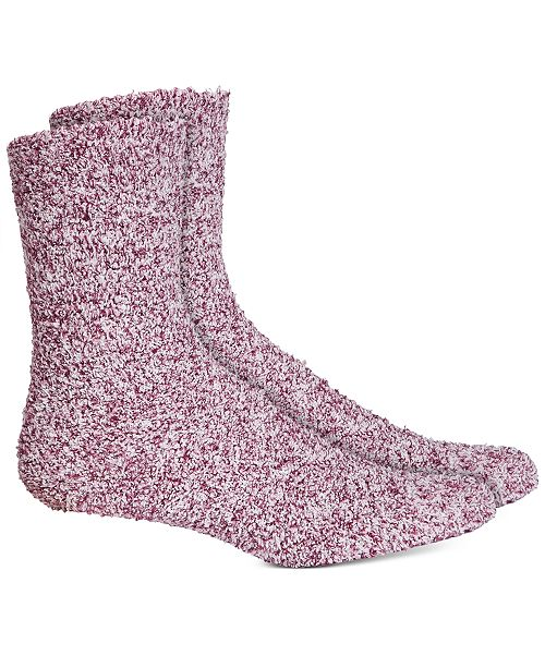 Charter Club Women's Super Soft Marled Crew Socks, Created For Macy's