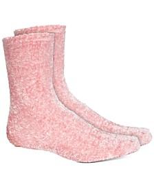 Women's Super Soft Chenille Butter Crew Socks, Created For Macy's