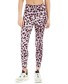 Leopard Print High-Waist Leggings