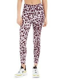 Calvin Klein Performance Leopard Print High-Waist Leggings