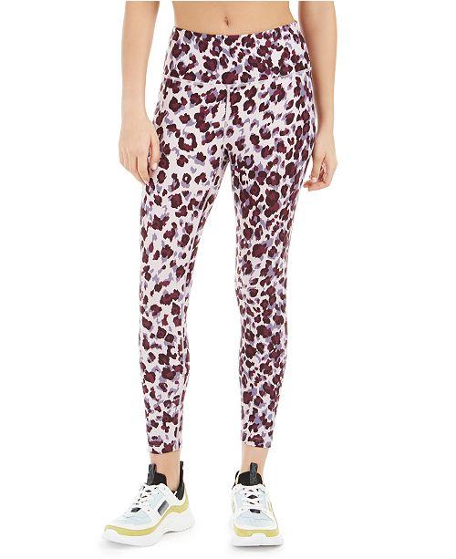 Calvin Klein Leopard Print High-Waist Leggings