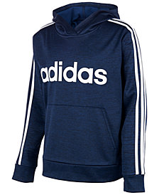 adidas Big Boys Logo Hoodie Sweatshirt