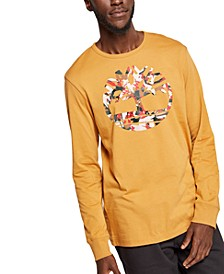 Men's Graphic Long-Sleeve T-Shirt